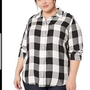 Levi's Women's Plus-Size Ryan Button Back 3X NWT